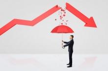 Fall in annual profits